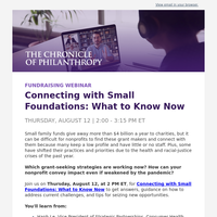 Connecting with Small Foundations in 2021