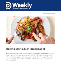 💪Ready to try a high-protein diet?
