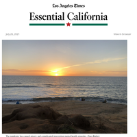 Essential California: Depression and the pandemic