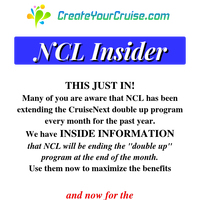 {NAME} - NCL Insider - SPECIAL ALERT - HOT Sailings being recalled