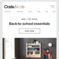 NEW + Top-Rated for Back-to-School