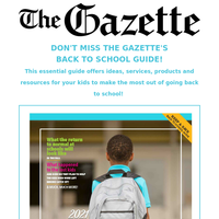 ✏ The Gazette's Back to School Guide is out!