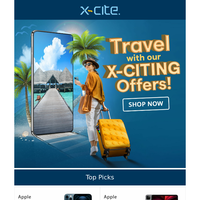 Travel With Our X-Citing Offers!