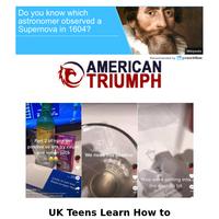 UK Teens Learn How To Manufacture False Positive COVID...