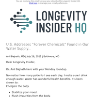 """U.S. Addresses """"Forever Chemicals"""" Found in Our Water Supply..."""