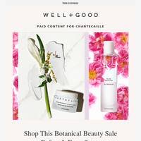 We scored you early access to this botanical beauty sale (you won't want to miss it)