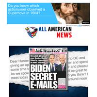 Joe Biden Sent Hunter Secret Government Documents Through A Private Email Account...