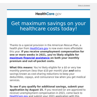 You may now qualify for more financial help on healthcare costs