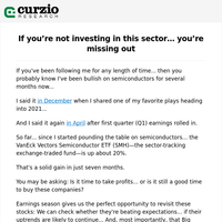 If you're not investing in this sector... you're missing out