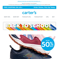 Hop, skip and jump back into school (with up to 50% off SHOES!)