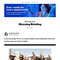 Your Tuesday Briefing