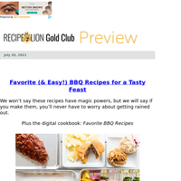 Top 5 Favorite BBQ Recipes