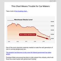 The tiny $4 stock capitalizing on Tesla's big problem