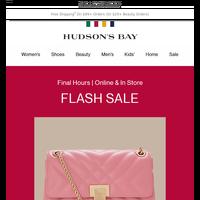 Fine Jewellery & Handbag Flash Sale—ENDS SOON