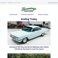 Hemmings Auctions Daily