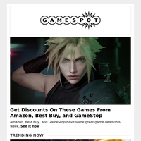 Get Discounts On These Games From Amazon, Best Buy, and GameStop