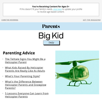 The Telltale Signs You Might Be a Helicopter Parent
