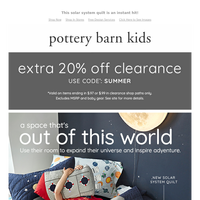 Just dropped... This new collection is available at Pottery Barn Kids
