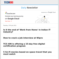 Is it the end of 'Work from Home' in Indian IT industry? | How to crack a job interview at Wipro