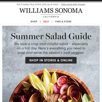 Salad essentials: bowls, tools and recipes