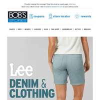 Lee Denim & Clothing Up to 75% OFF