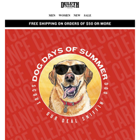 Scout's Dog Days DEALS - 60% OFF!