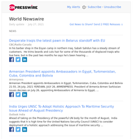 World News (Tue 27 Jul 2021)