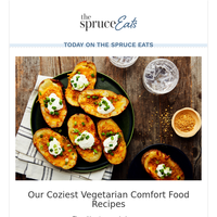 Our Coziest Vegetarian Comfort Food Recipes