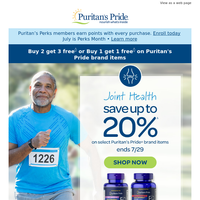 Hurry, this Joint Health deal won't last long