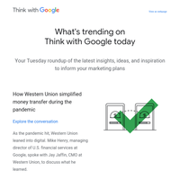 Recently published on Think with Google