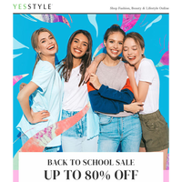 Dear {NAME}, Back To School Sale - This week only!