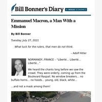 Emmanuel Macron, a man with a mission