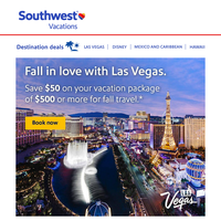 ✈ Too awesome to miss! Our savings are better than ever before—no idea where to go for your fall vacation?
