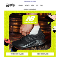 New Balance Sneakers for Back to School