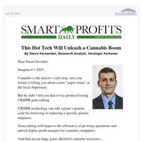 This Hot Tech Will Unleash a Cannabis Boom