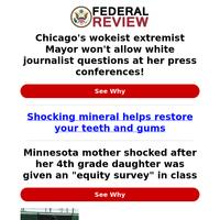 Chicago's Wokeist Extremist Mayor Won't Allow White Journalist Questions...