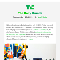 Daily Crunch - No-code startup Bubble pops with $100 million Series A round