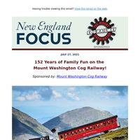 152 Years of Family Fun on the Mount Washington Cog Railway!