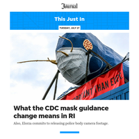 This Just In: What the CDC mask guidance change means in RI