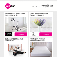 2 Topiary Buxus Balls | Smart Home Mystery Deal | Air Cooler & Humidifier | 2-in-1 Hair Curler & Straightener | Sirius Cool Touch Spring Memory Mattress