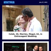 Celeb, 30, Marries, Mogul, 62, in Extravagant Wedding