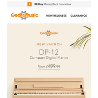 New Launch! The DP-12 Digital Piano