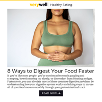 8 Ways to Digest Your Food Faster