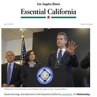 Essential California: An offbeat week for Newsom