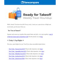 🌈 Amazing travel deals on the horizon!