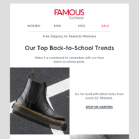 Send them back-to-school in our top picks!