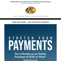 Stretch your payments and make shopping easier than ever!