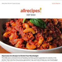 Depression-Era Recipes to Stretch Your Meat Budget