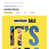 Don't wait! Shop Anniversary Sale now