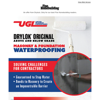 Need a Waterproofing Solution for Foundations? DRYLOK® Has You Covered.